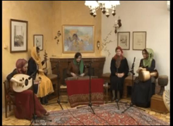 «سرو خرامان» موسیقی گروه مهربانو . . . . .