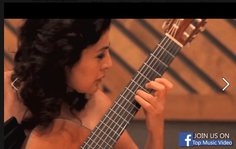 لیلی افشار، اولین زنی که در جهان دکترای گیتار گرفت.