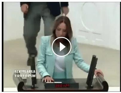سخنرانی شورانگیز نماینده مجلس ترکیه به تحدید کنندگان حقوق زنان