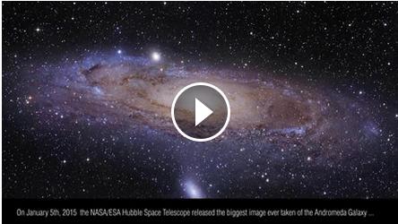 ناسا بزرگترین عکسی را که تاکنون از کهکشان آندرومدا گرفته شده
