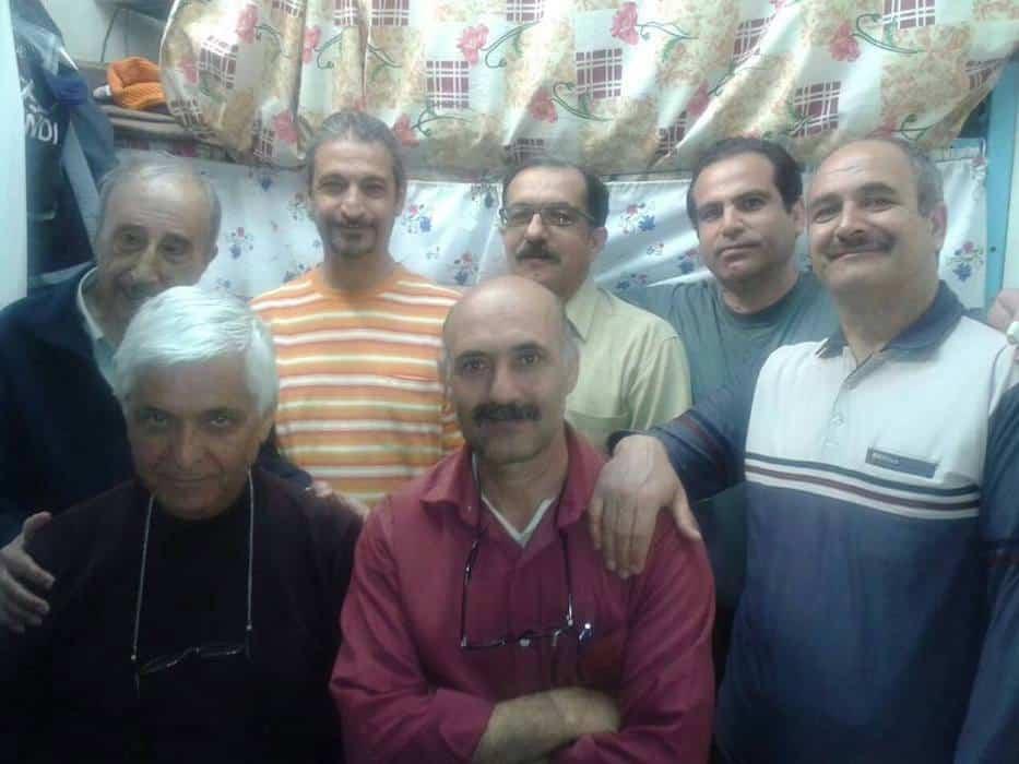 ناهار همبستگی زندانیان سیاسی سالن ۱۲ بمناسبت سیزده بدر