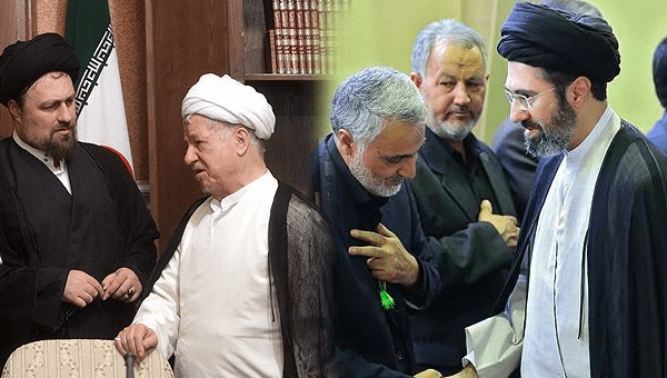 این مجتبی است که (میخواهد) خواهد آمد، میگوئید نه، از سیدعلی خامنهای بپرسید