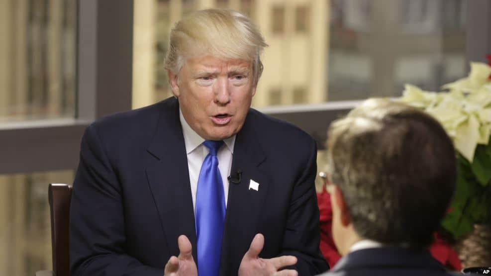 دونالد ترامپ گزارش سیا درباره مداخله روسیه در انتخابات ریاست جمهوری را رد کرد