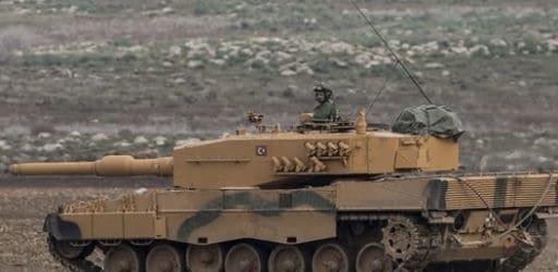 آغاز ضد حمله کردها به نیروهای ترکیه در عفرین